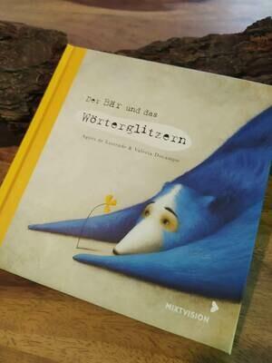 """""""Der Bär und das Wörterglitzern"""" - Buch - Geschenkausgabe"""