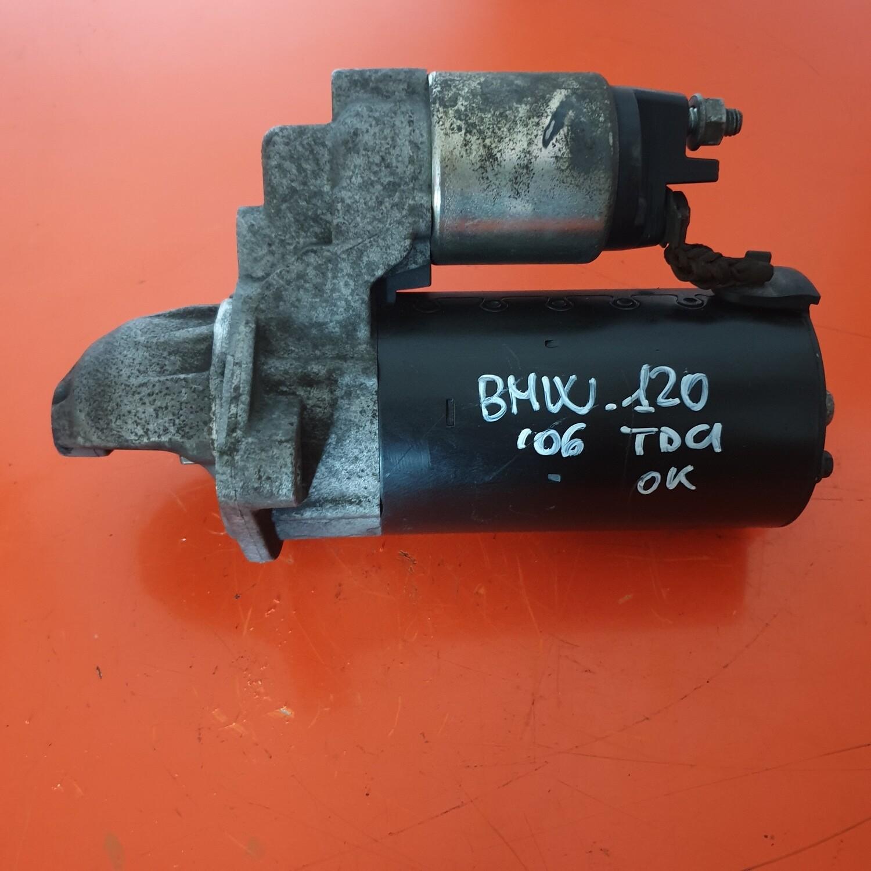 MOTORINO BMW 120 SERIE 1 0001115046 BOSCH 2.0 TDI