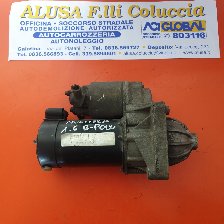 MOTORINO AVVIAMENTO FIAT MULTIPLA B-POWER 1.6 16V B 46835093 VALEO