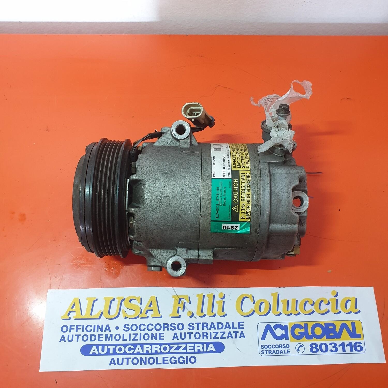 COMPRESSORE A/C OPEL CORSA C 1.2 16V B 09132918 DELPHI