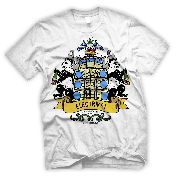 Electrikal Scottish Crest | T-shirt