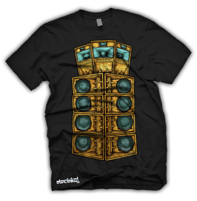 Tall Speaker Stack | T-shirt