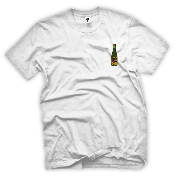 Electrikal Smol Bucky | White | T-shirt