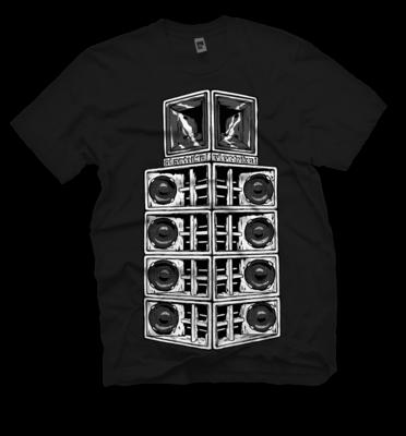 Danley Stack B&W | T-shirt