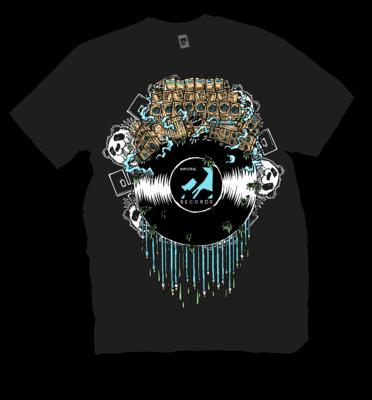 Panda Vinyl | T-shirt