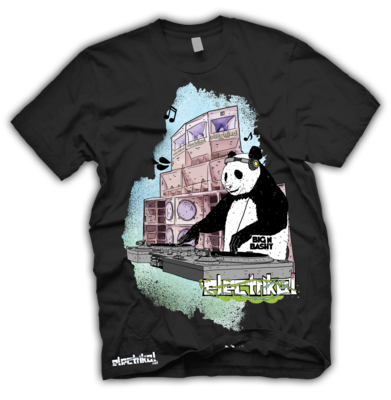 Panda DJ | T-shirt