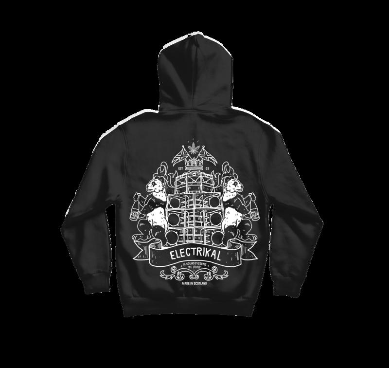 Electrikal Crest | Hoody & Zip