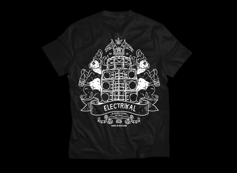 Electrikal Back Crest | T-shirt