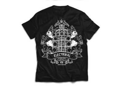 Electrikal Back Crest | T-shirt