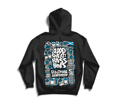 Blood Sweat & Bassbins | Hoody & Zip