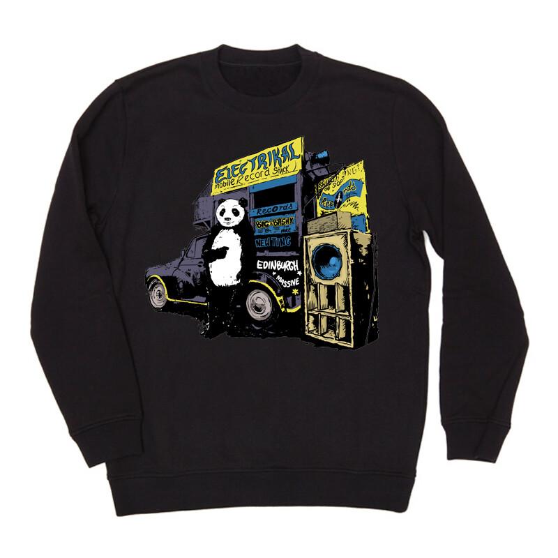 Panda Shak   Crew Jumper