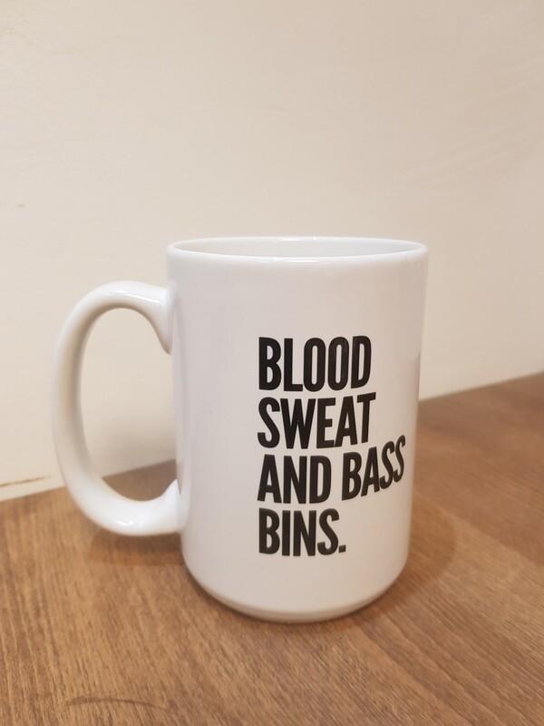 Blood Sweat & Bassbins - Supersized Mug
