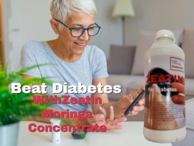 Zeatin Moringa Concentrate for diabetes 1000ml