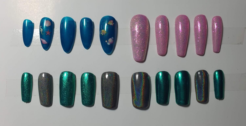 Custom Press On Nails - Basic Art