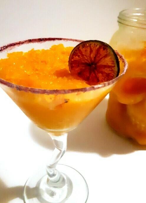 Freezy Mango Margarita for 2