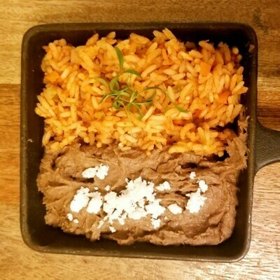Refried Beans & Rice