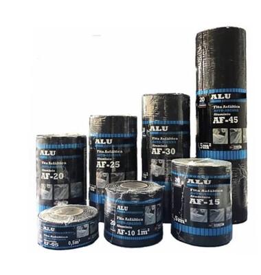 Fita Asfáltica Auto-Adesiva ALU/FLEX Cor Grafite 90cm x 10m x 1mm