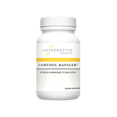 INTEGRATIVE THERAPUETICS — CORTISOL MANAGER