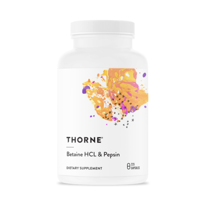 THORNE BETAINE HCL/PEPSIN
