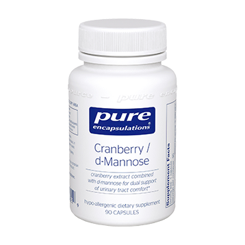 CRANBERRY/D-MANNOSE - PURE ENCAPSULATIONS