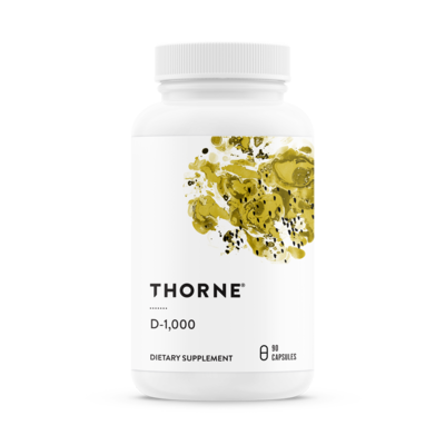 THORNE VITAMIN D-1,000