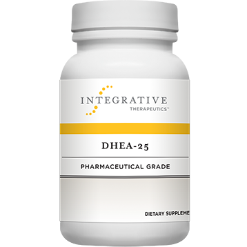 DHEA 25MG 60 CT BOTTLE - INTEGRATIVE THERAPEUTICS