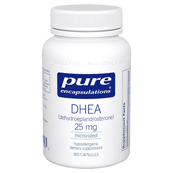 DHEA 25MG 180 CAPS - PURE ENCAPSULATIONS