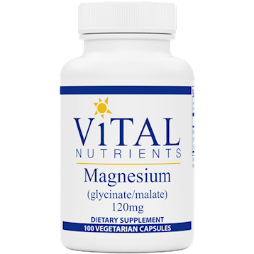MAGNESIUM GLYCINATE 120MG - VITAL NUTRIENTS