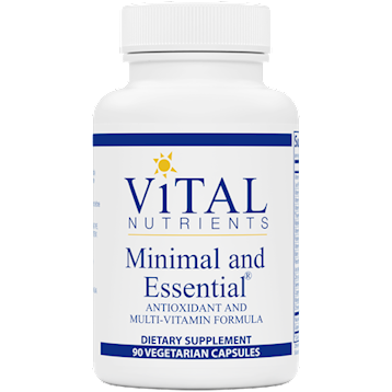 MINIMAL AND ESSENTIAL - VITAL NUTRIENTS