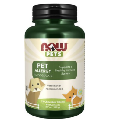 Pet Allergy Dog & Cat Supplement