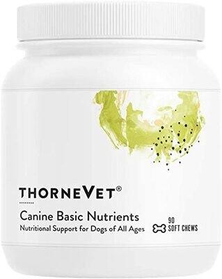 Thorne Vet - Canine Basic Nutrients
