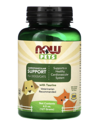 Now Pets - Cardiovascular Support for Dogs/Cats