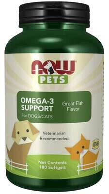 Now Pets - Omega-3 Support for Dogs/Cats