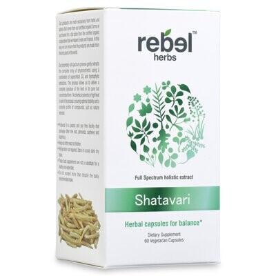 Rebel Herbs - Shatavari Herbal capsules for balance