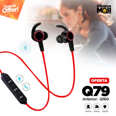 Auriculares Bluetooth Deportivos con Micrófono GM-D2