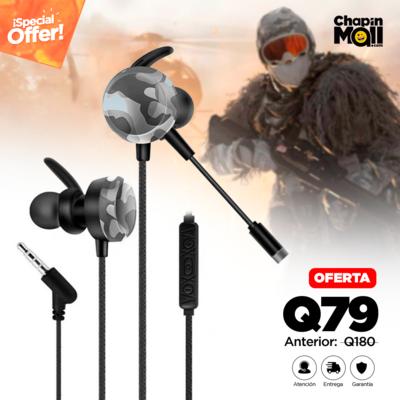 Auriculares Deportivos para Gamers con Micrófono GM-D4