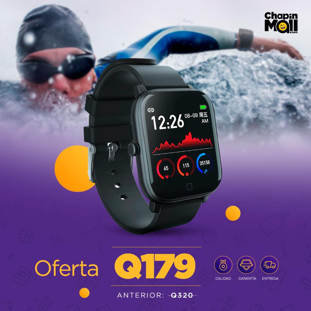 Smartwatch Deportivo Bluetooth S1 a Prueba de Agua