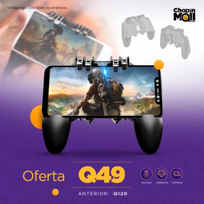 Control Mobile con Gatillos para Videojuegos AK-66