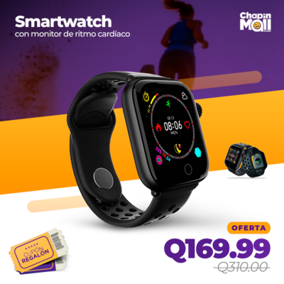 Smartwatch Deportivo con Monitor de Ritmo Cardíaco z7