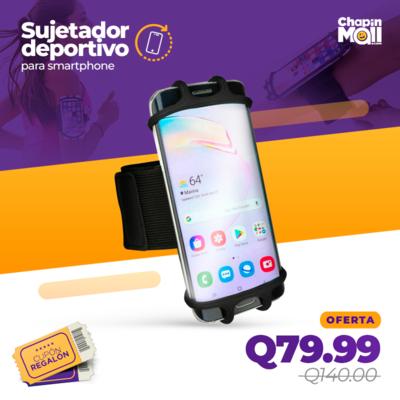 Sujetador Deportivo Rotable 360 para Smartphone Anti-Sudor