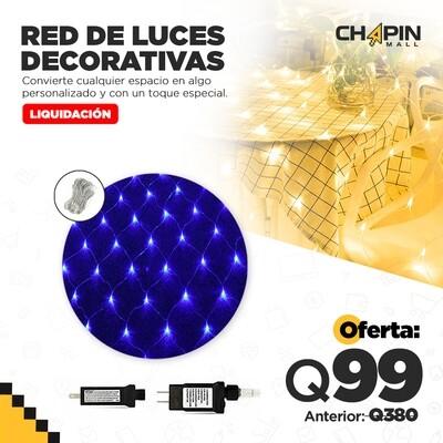 Red Completa de 320 Luces Navideñas Tipo Malla