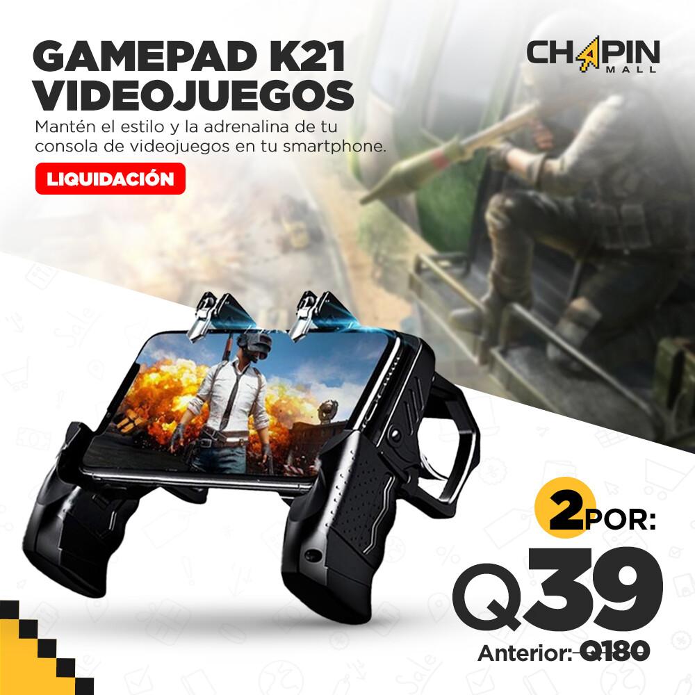 COMBO: 2 Controles Mobile con Gatillos para Videojuegos K21
