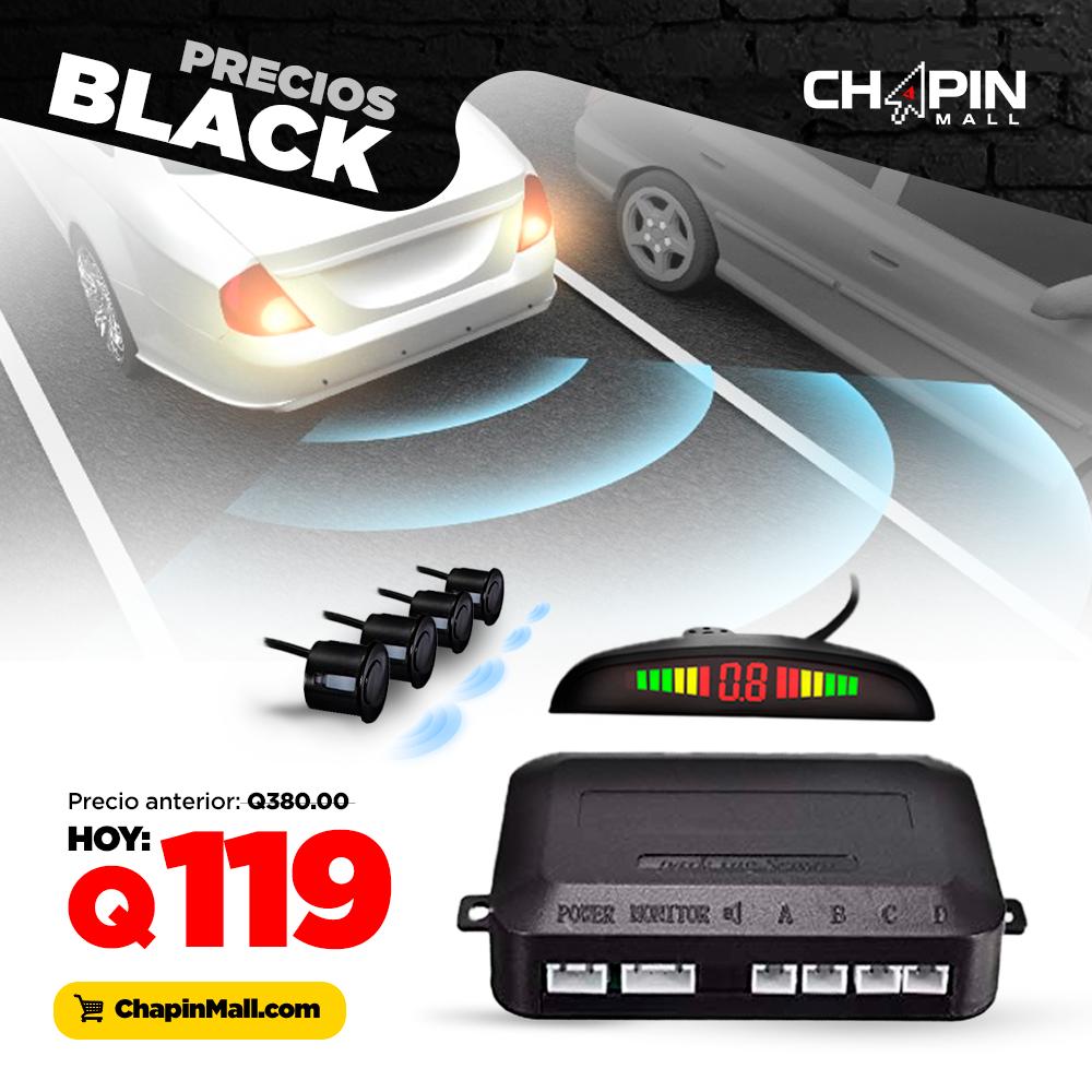 Kit de Sensores de Estacionamiento Anti-Choques para Carro