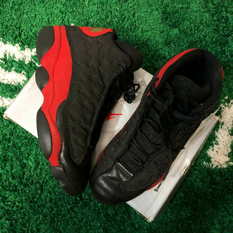 Air Jordan 13 Bred 1998 Size 12
