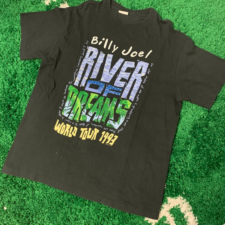 Billy Joel Tour T-Shirt 1993 Size Large