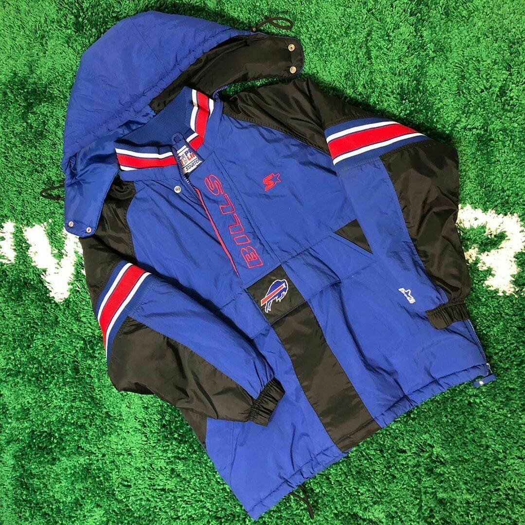 Buffalo Bills starter pro line jacket 90's Size Medium