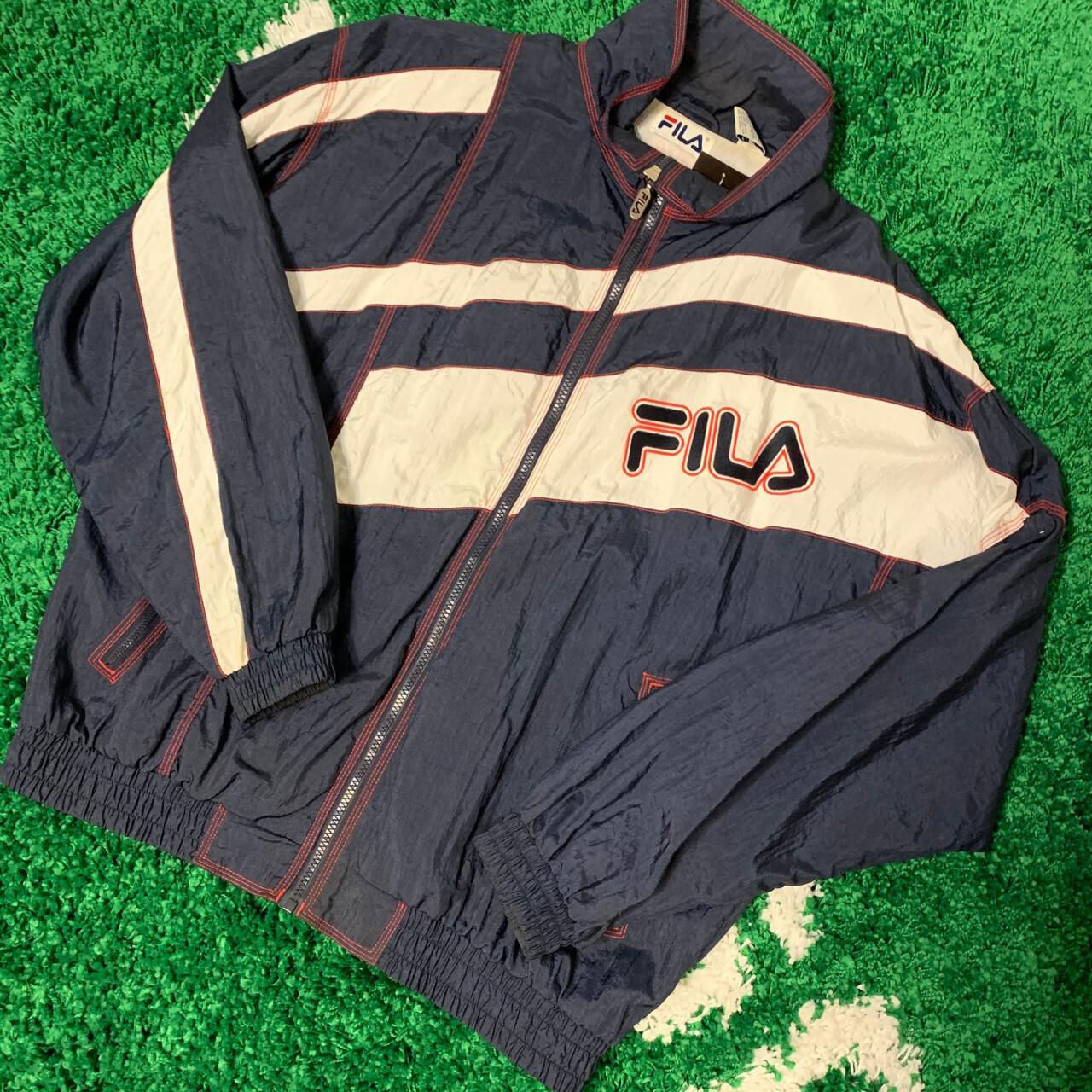 Fila Jacket 90's Navy/White Size Large