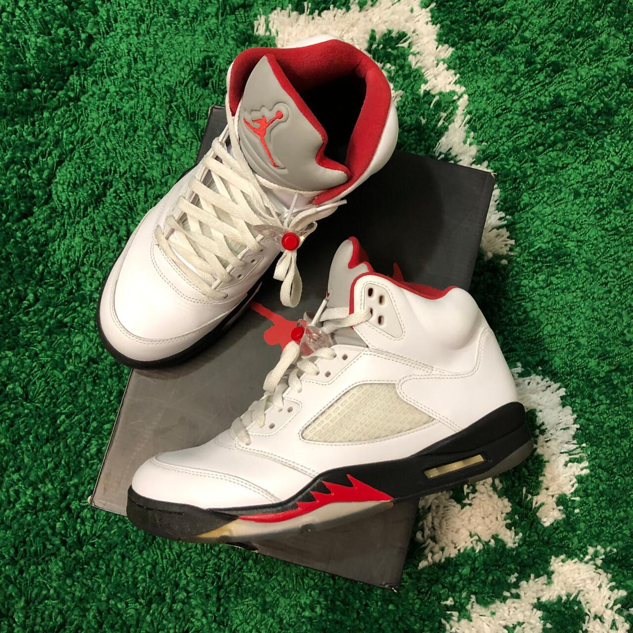 Jordan 5 Retro Fire Red (2013) Size 10