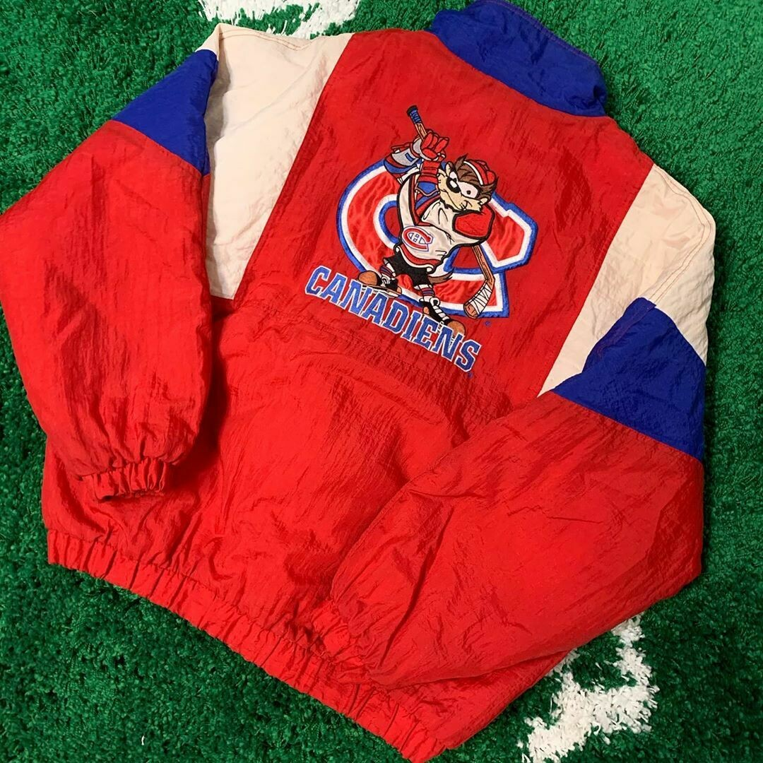 Montreal Canadiens x Looney Tunes Jacket 90's Size XL