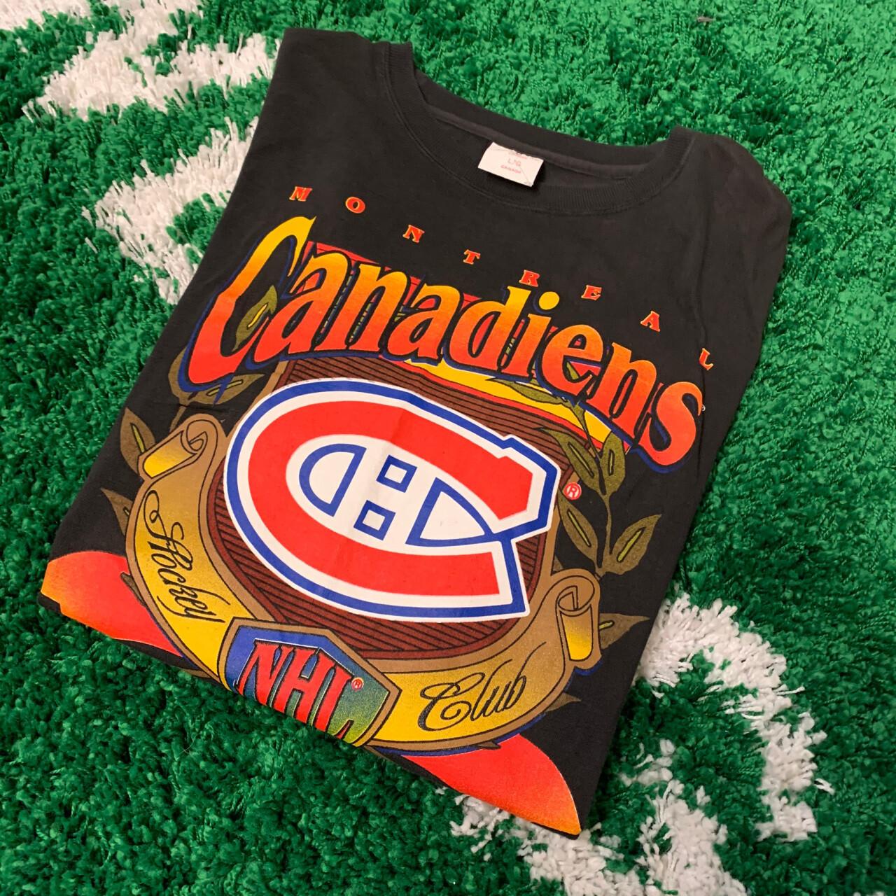 Montreal Canadiens NHL CLUB Tee 90's Black Size XL